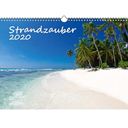 Strandzauber - Calendario 2020, diseño de playa y playas, juego de ...