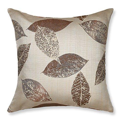 (Violet Linen Milano Arts Collection Decorative Cushion Cover, 18