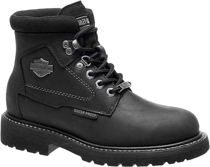 9c41764c8e36a Harley-Davidson Women's Bedon 5-Inch Black Waterproof Motorcycle Boots  D87150