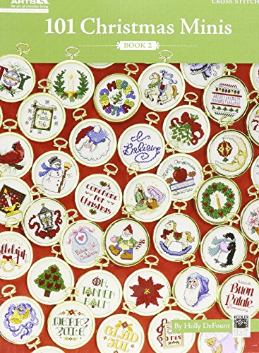 101 Christmas Minis, Book 2  (Leisure Arts #5523) (Art Cross Stitch Kit)