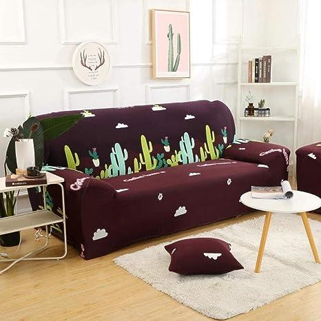 ABUKJM Funda de Funda para sofá Pixel Ultra Soft Stretch Sofa Sofá, Fundas de sofá Fundas para sofá de 1/2/3 plazas Fundas de 3 plazas