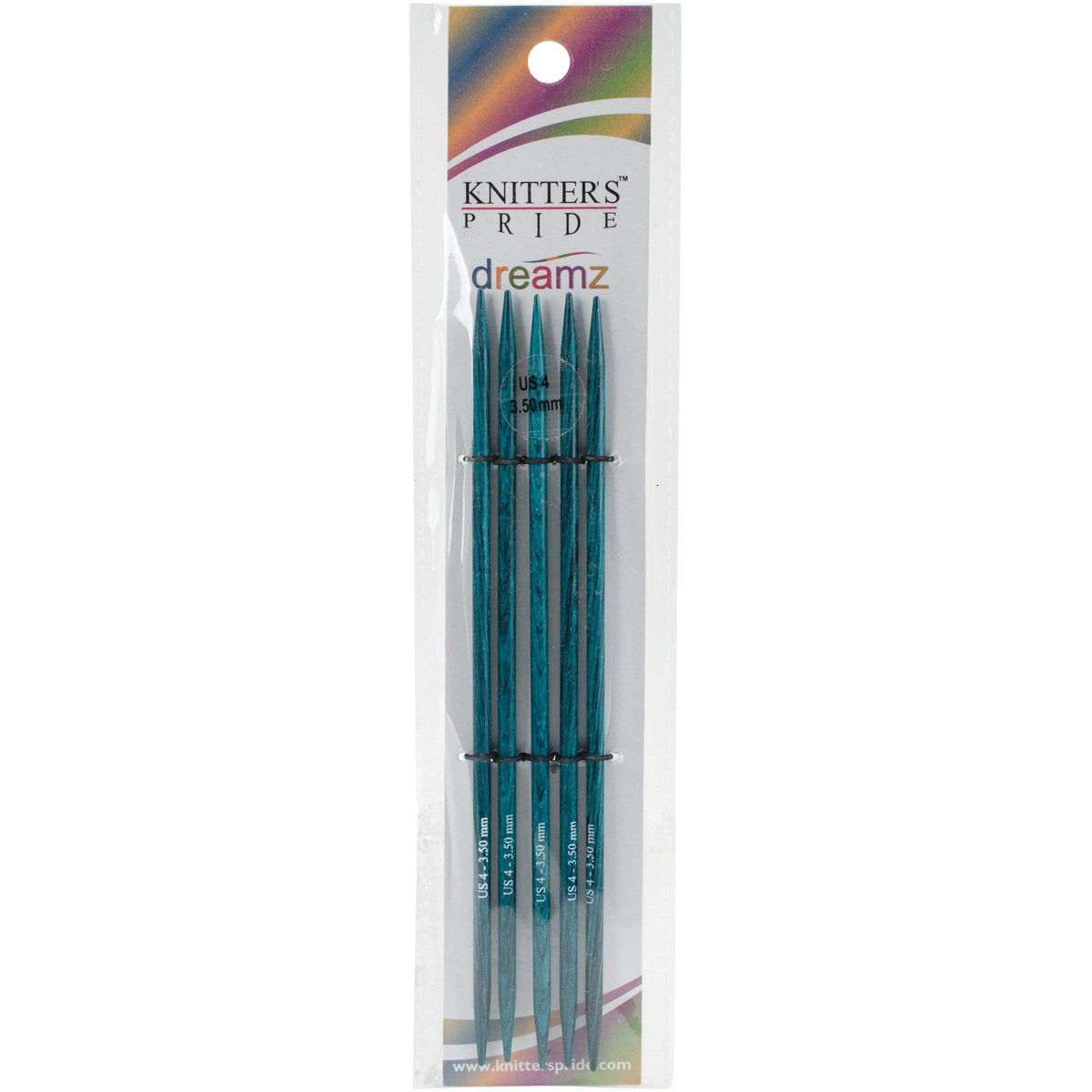 Knitters Pride 4//3.5mm Dreamz Double Pointed Needles 6