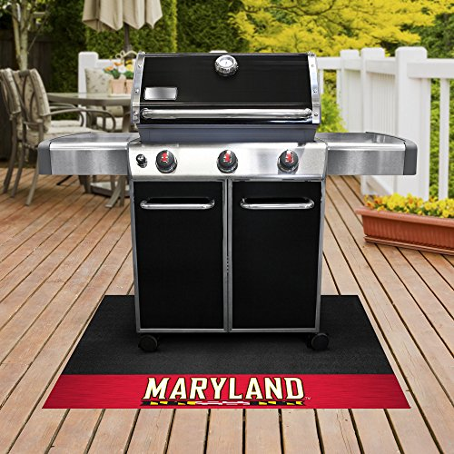 (FANMATS NCAA University of Maryland Terrapins Vinyl Grill Mat)