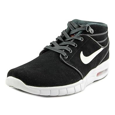 Stefan Janoski Chaussures En Daim Max Noir / Blanc Nike Ok3vSw