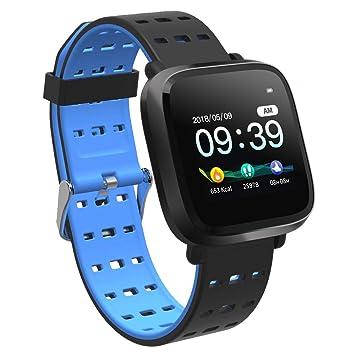 Explopur Smartwatch Presión Arterial Pulsómetro Monitor de Ritmo ...