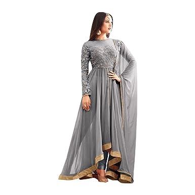 Maßanfertigung Designer Anarkali Salwar Anzug Jacke Partei tragen ...