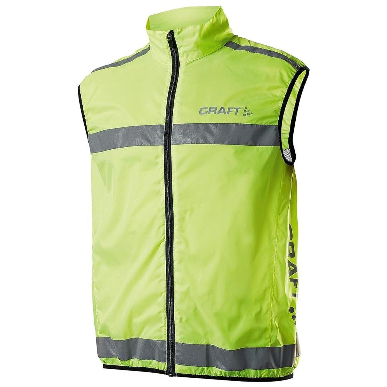 Brand New Craft Men's Neon Active Run Mesh Back Safety Vest