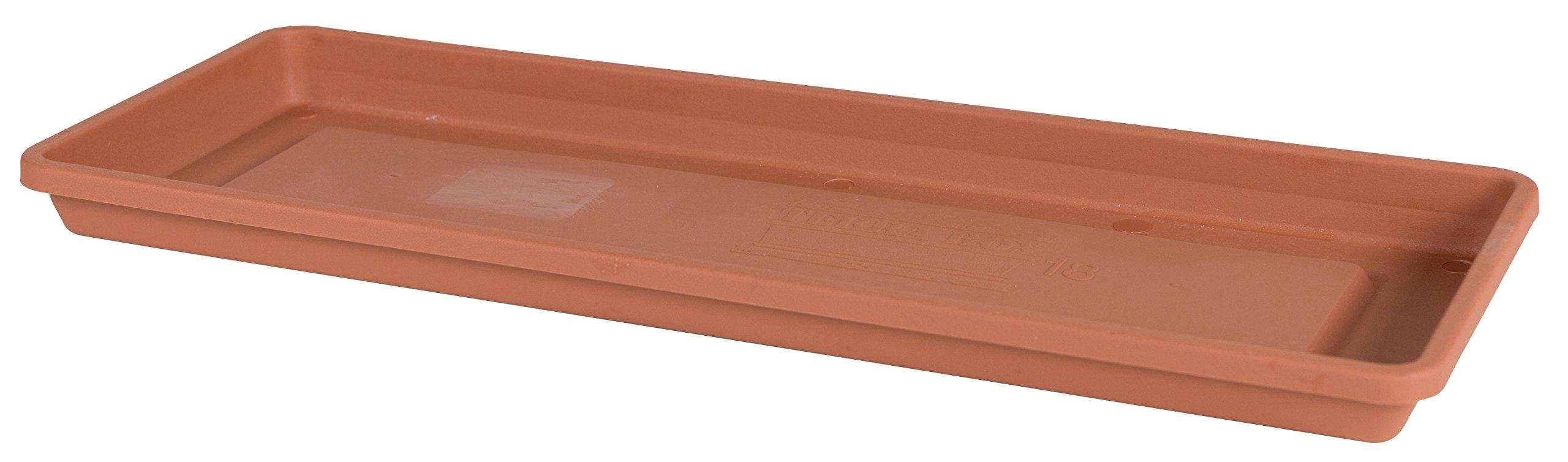 Bloem Fiskars 30 Inch TerraBox Tray, Color Clay