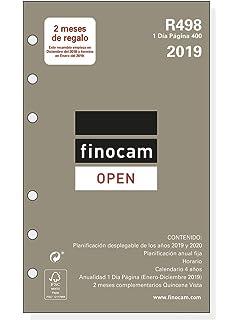 Finocam Open R499 - Recambio anual 2018, español, 91 x 152 ...