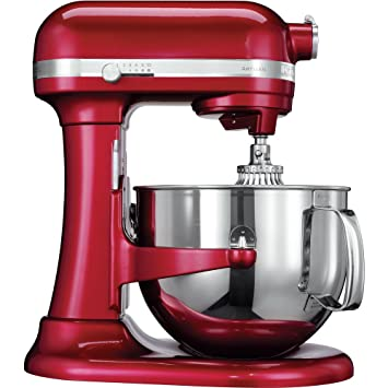 KitchenAid Artisan - Batidora amasadora, 6.9 l, color rojo: Amazon.es: Hogar