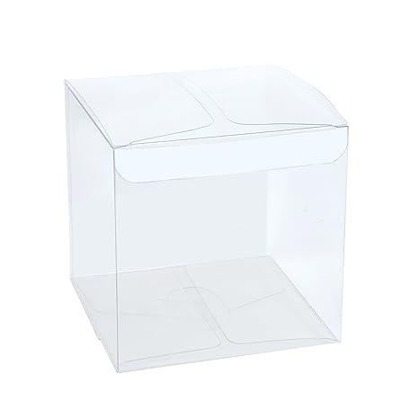 RUSPEPA Cajas Transparentes del Pet Doméstico 30pcs / Cajas de Regalo Claras para Los Favores de la Fiesta de la Boda, del Fiesta y de la Ducha de ...