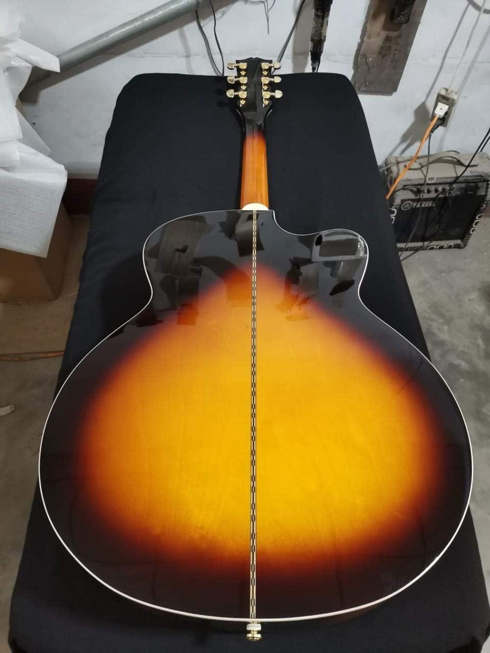 Florwesr Guitarra De Cuerpo Jumbo 43 Pulgadas Guitarra Acústica ...