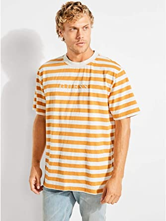 a55de9bab Amazon.com: GUESS Originals Striped Tee: Clothing