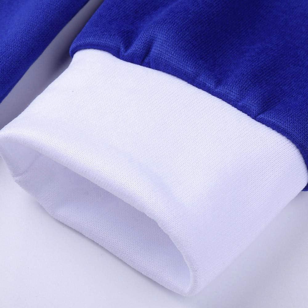 Salopette Uomo Donna Tuta da Ginnastica Zip Casual Sportiva Tuta Completo Hooded Sweatshirt Tinta Unita Sportivi Tuta Cappuccio Jumpsuit con Tasche Giacca