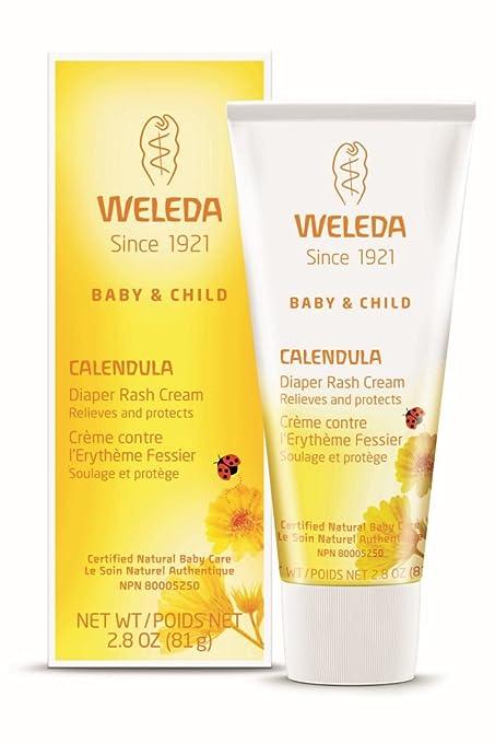 Weleda Calendula Baby Diaper Rash Cream 2.8-Ounce