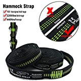 SEGMART Double Hammock with Two Tree Straps &...
