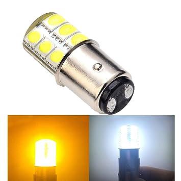 LED-Lampe, 12 V, 1157 P21/5 W BAY15D S25 12SMD, 1 W Auto Zubehör ...