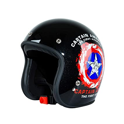 Motocicleta Retro Harley Casco Casco de Coche eléctrico Hombres y Mujeres Four Seasons Personalidad Casco de