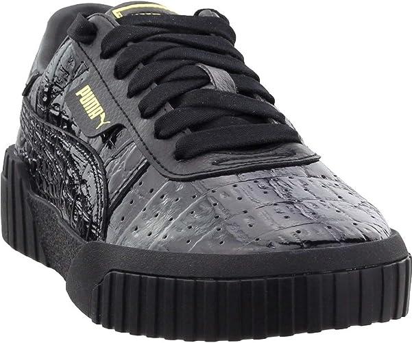 PUMA Damen Cali Croc: : Schuhe & Handtaschen