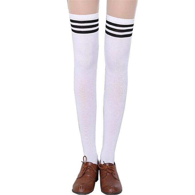 19184f9835b Cheryl Bull Sexy Women Over The Knee Socks Thigh High Thick Girls Princess Knee  High Long