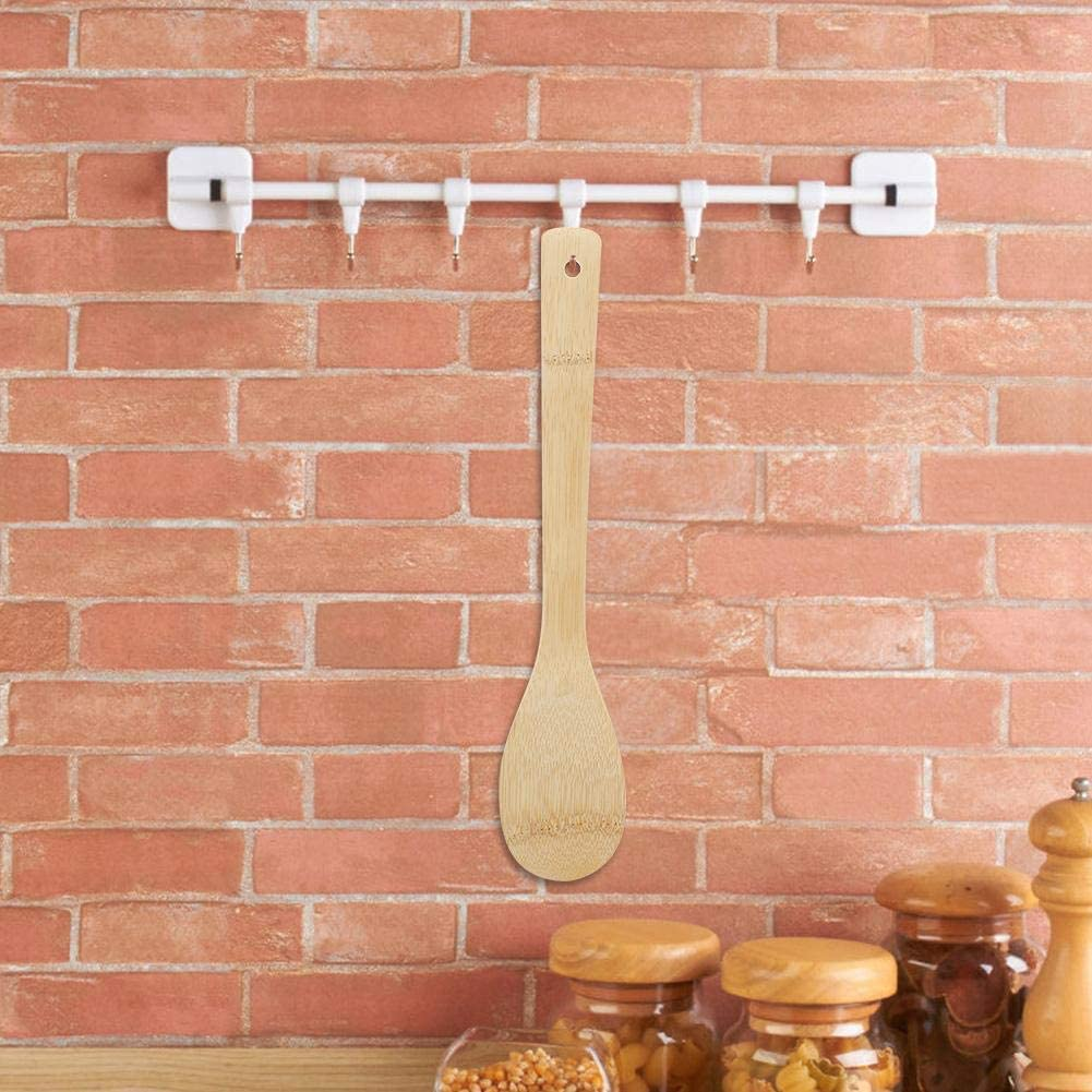 Spoon MAGT Cucchiaio Utensili da Cucina in Legno di bamb/ù Utensile da Cucina Cucchiaio Spatola Paletta di Legno
