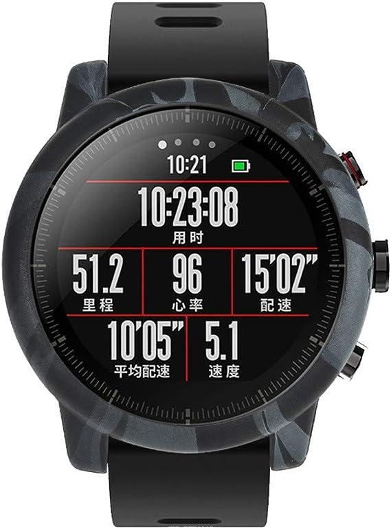 Morran Sports Smartwatch Marco Caso Cubierta Proteger Shell Moda ...