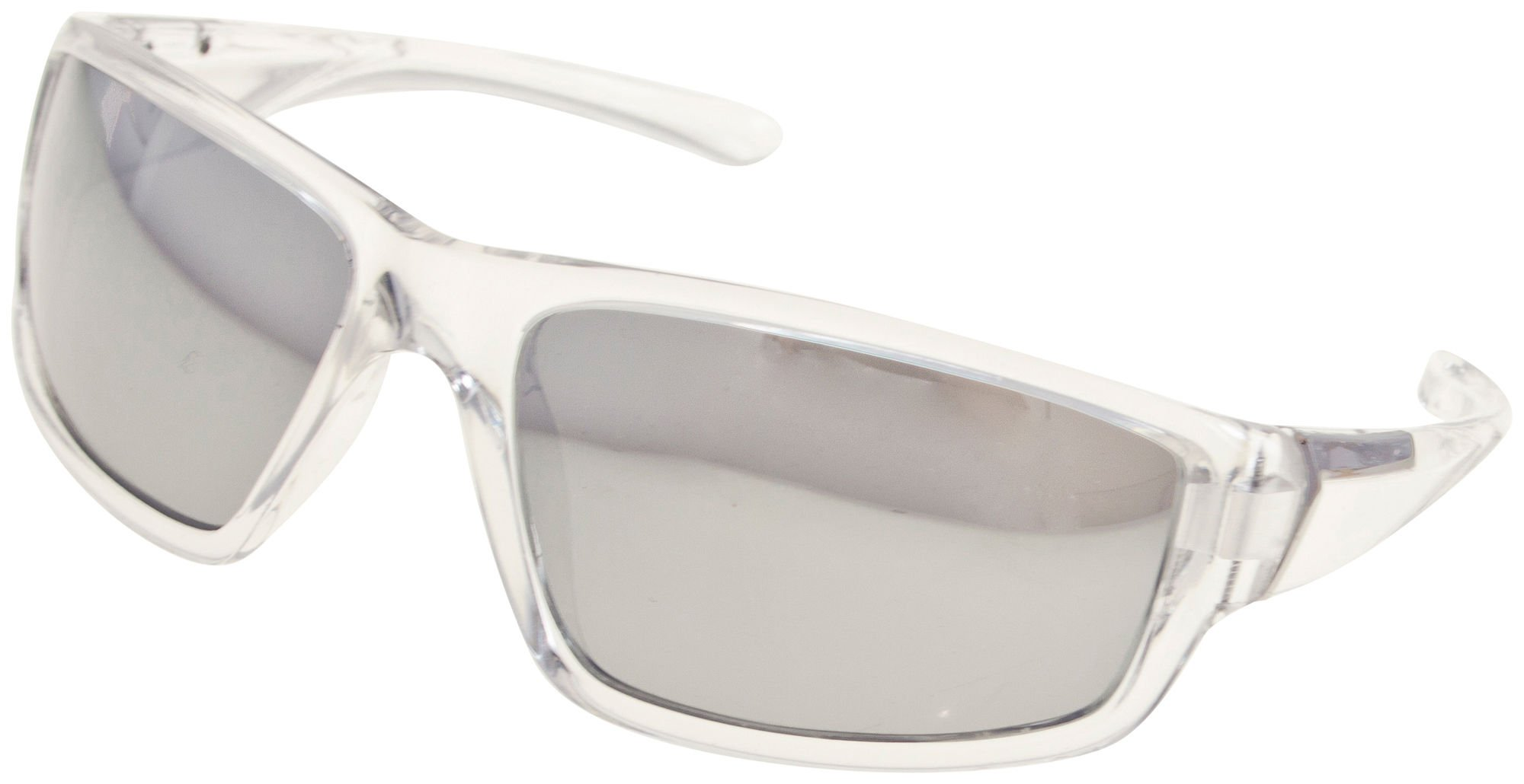 Reel Legends Mens Clear Sunglasses One Size Clear