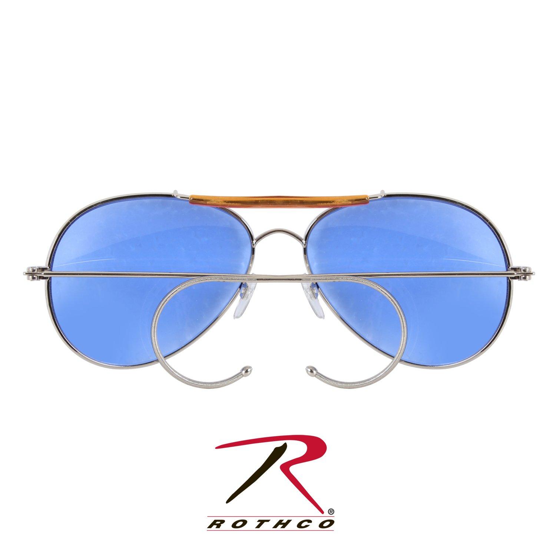 Rothco Aviator Sunglasses, Blue