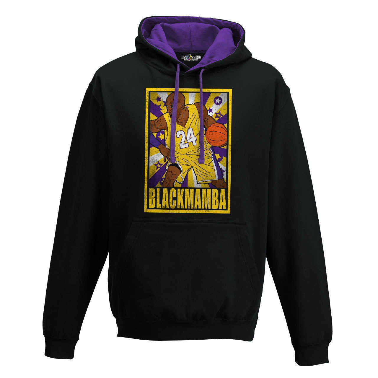 KiarenzaFD Sudadera Capucha Bico Baloncesto Vintage Parodia All Star Kobe Bryant Black Mamba 1: Amazon.es: Deportes y aire libre