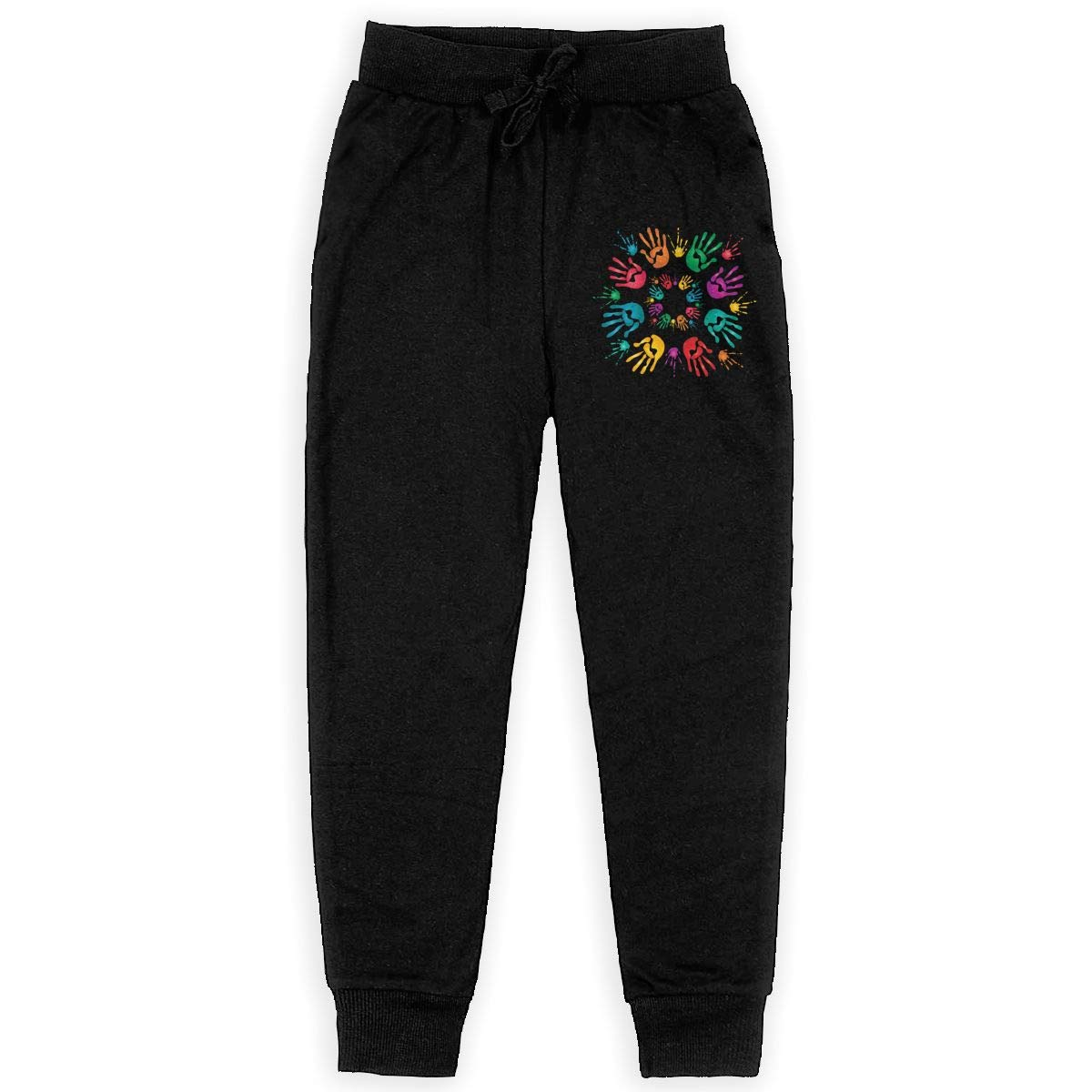 Hands Happy Holi Boys Athletic Smart Fleece Pant Youth Soft and Cozy Sweatpants