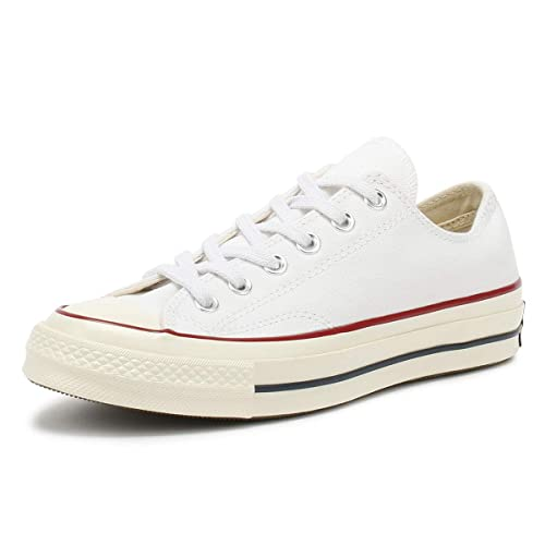 dd25f30b4194 Converse Chuck 70 OX Unisex-Adults Fashion-Sneakers 162065C 6 -  White Garnet