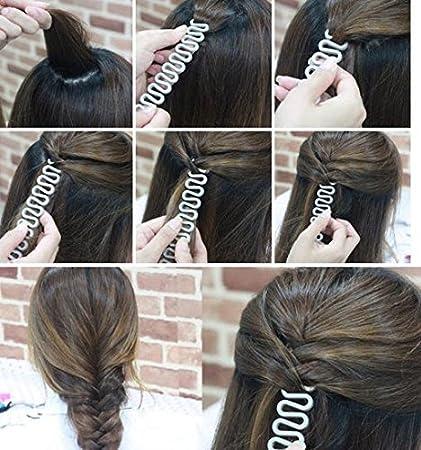 Hair Braiding Tool Styling Hook French Hair Twist Braid Black UK Stock