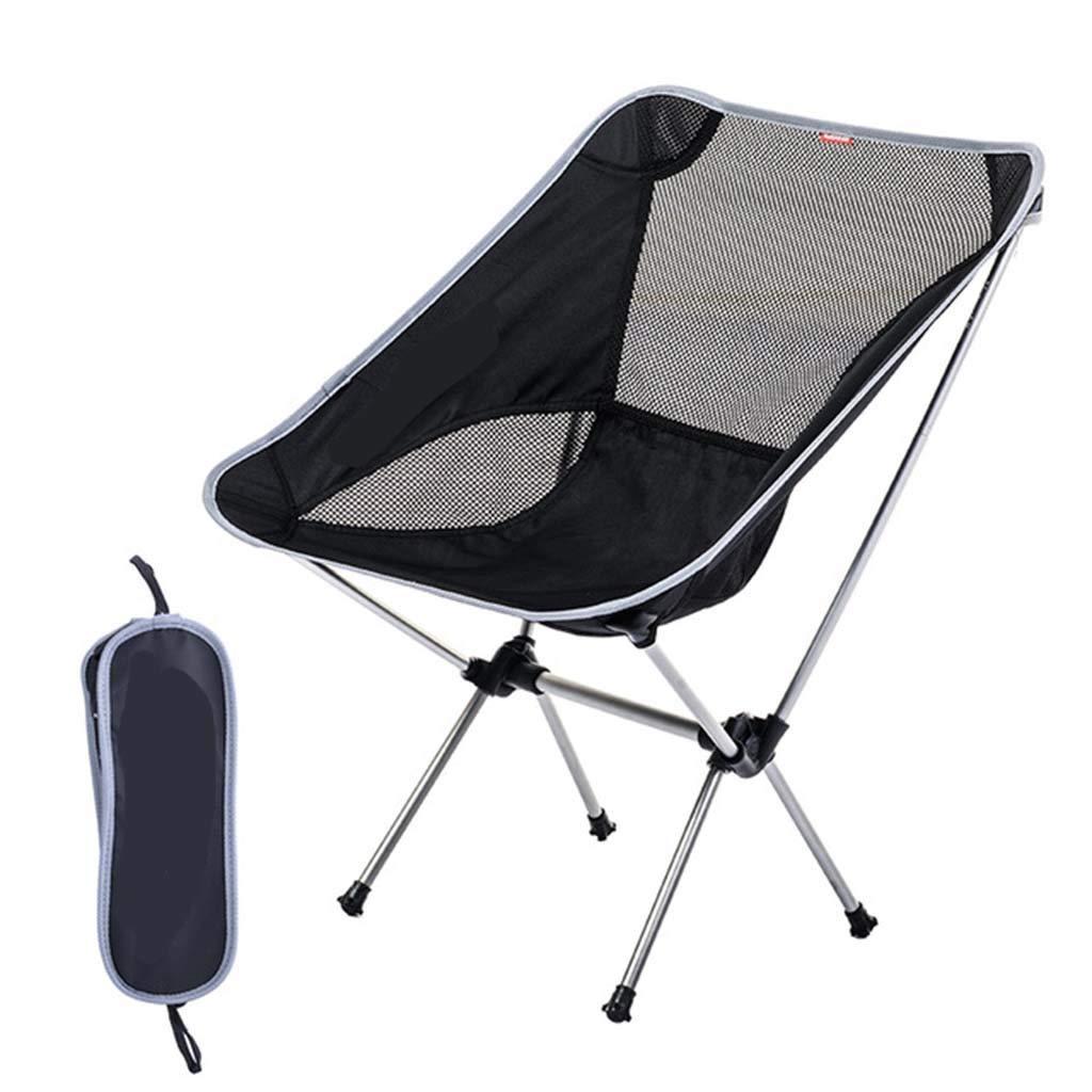 折りたたみ椅子/超軽量屋外ポータブル釣りレジャーチェアスツールスケッチチェアビーチチェア (色 : B) B07PB2GR5N B