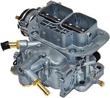 A-Team Performance 428 Universal Weber Type Carburetor 38X38 2 Barrel Carb Compatible With Fiat Renault Ford VW Volkswagen 4C