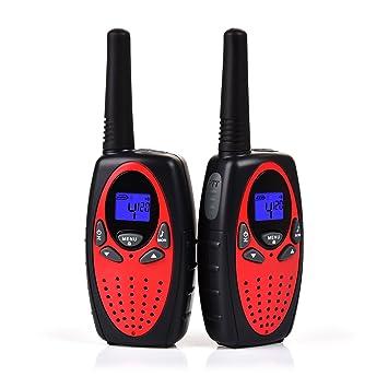 Upgrow Talkie Walkie RT Paire Kids TalkieWalkie Rechargeable - Talkie walkie longue portée