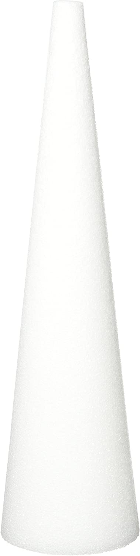 FloraCraft Flora Craft Styrofoam Bulk Cone 18