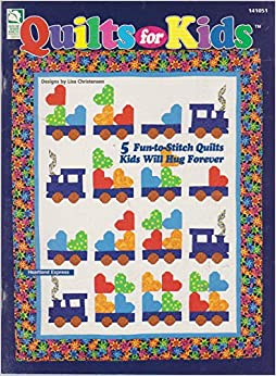 Book Quilts for kids: 5 fun-to-stitch quilts kids will hug forever