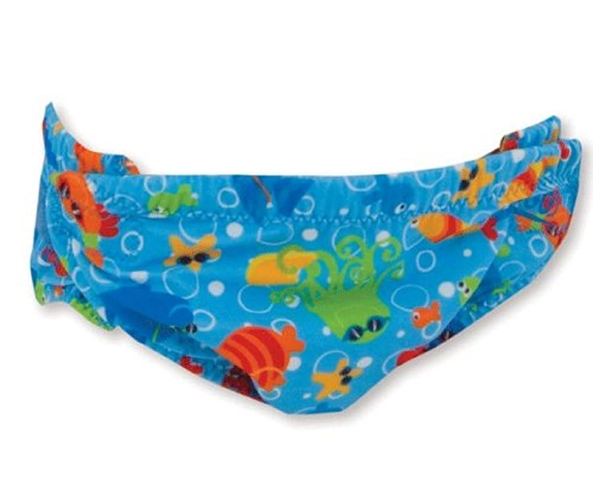 Zoggs Elasticated Baby Swim Nappy 1-2 Years- Blue BD083