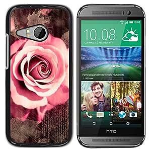 Stuss Case / Funda Carcasa protectora - The Written Rose Love Letters - HTC ONE MINI 2 / M8 MINI