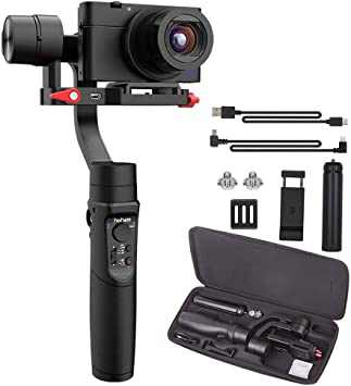 iSteady Multi Hohem 3-Axis Gimbal Stabilizer for Smartphone iPhone//Gopro Hero//SONY Camera with 8hrs Working /& 600/°Inception Mode /& 6 Creative Modes All-in-one Handheld Gimbal Stabilizer