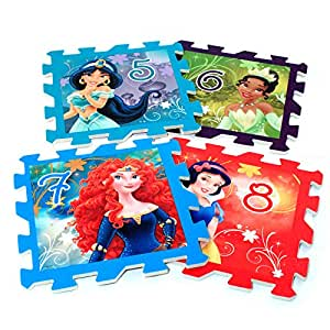 Amazon Com Disney Princess Deluxe Hopscotch Foam Floor