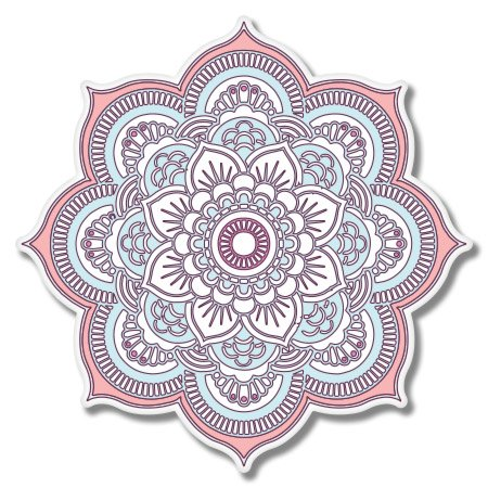 Mandala Boho Style Vinyl Sticker - Car Window Bumper Laptop - SELECT SIZE