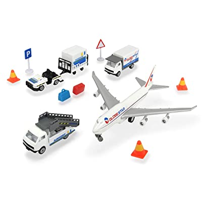 DICKIE TOYS Airport Playset, White: Toys & Games