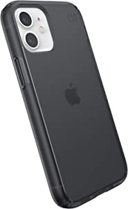Speck Products Presidio Perfect-Mist iPhone 12 Mini Case, Obsidian/Obsidian