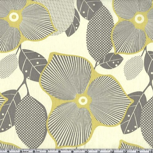 Amy Butler Midwest Modern Optic Blossom Linen Fabric By The Yard