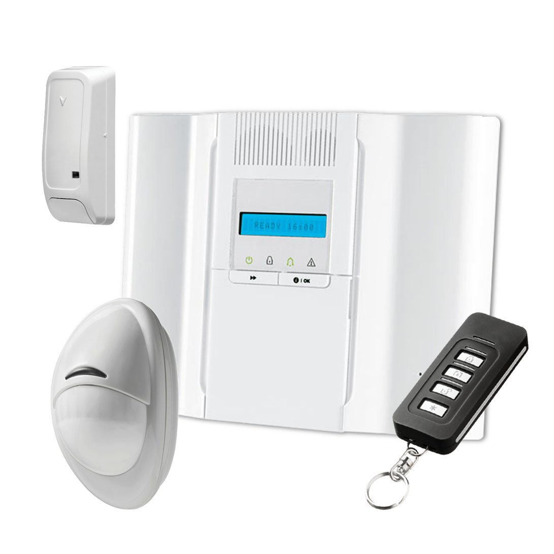 Kit de alarma Wireless A 64 zonas con central DSC wp8030 ...