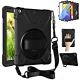 ZenRich New iPad 8th Generation Case 2020 iPad 7th Generation 10.2 Case with Screen Protector Kickstand Hand Strap and…