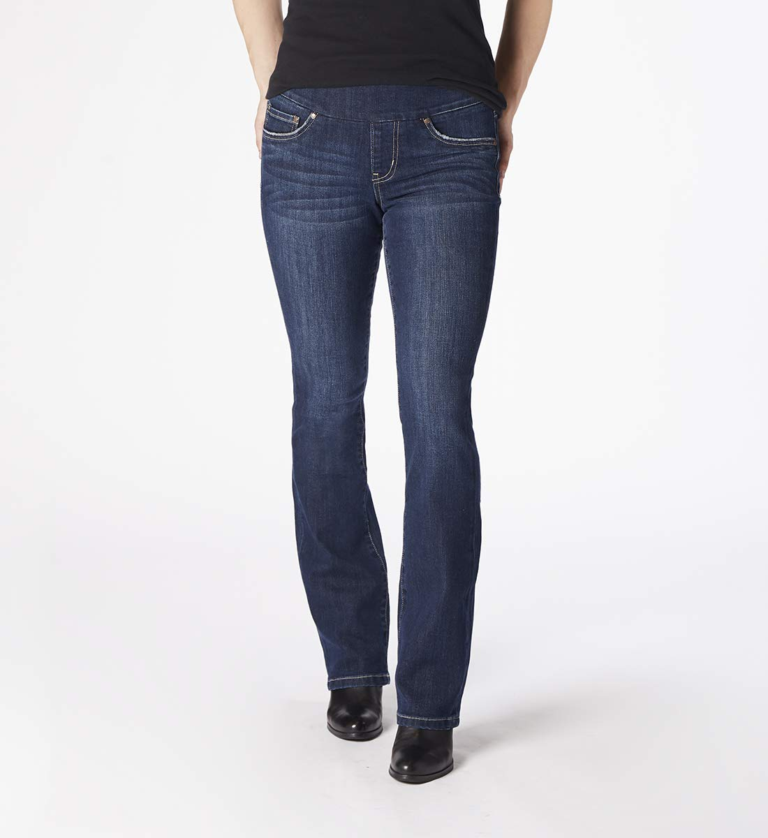 Jag Jeans Women's Paley Boot Pull on Jean, Blue Shadow, 16 by Jag Jeans