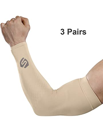 Apparel Accessories Arm Warmers Running Arm Sleeves Basketball Elbow Pad Fitness Armguards Breathable Quick Dry Uv Protection Sports Cycling Products Are Sold Without Limitations