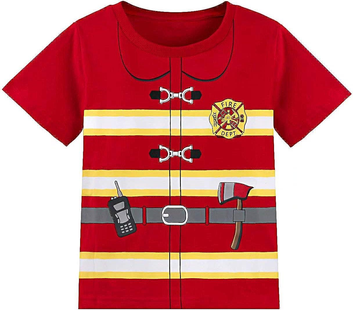 MOMBEBE COSLAND Maglietta Stampata Bambino T-Shirt Spesso Cotone Costumes